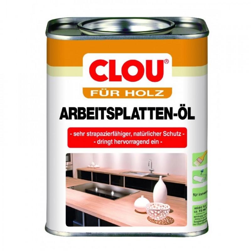 CLOU Arbeitsplatten Λάδι για παρθένο ξύλο, συνδυασμός λαδιού-κεριού - Ανθεκτικός στο νερό και στην αποτριβή