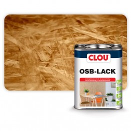 CLOU OSB-LACK Για την Διαφανή Στεγανοποίηση της OSB Ξυλόπλακας