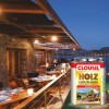 CLOUSiL Έγχρωμο Βερνίκι Εμποτισμού, Συντηρητικό και Χρώμα Ξύλου για Εξωτερική Χρήση Βάσης Διαλυτικού