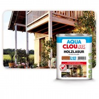 CLOUSiL AQUA Οικολογικό Βερνίκι Εμποτισμού Ξύλου Βάσης Νερού Εξωτερικής Χρήσης