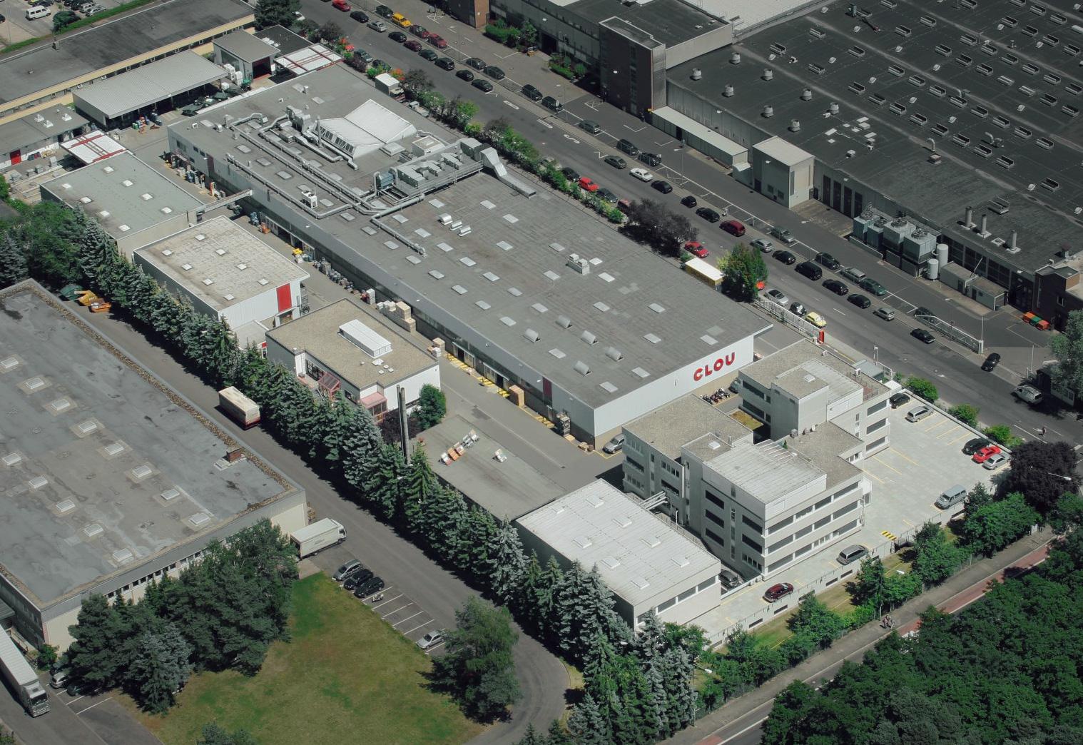 Το εργοστάσιο της CLOU στην Γερμανία